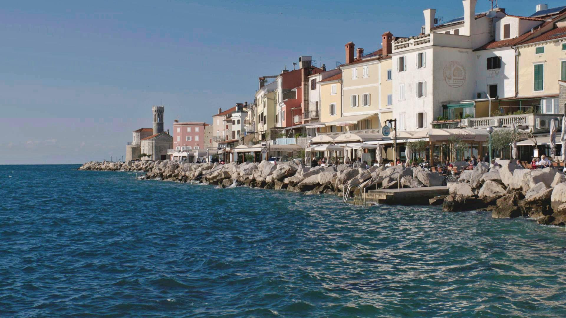 03 Die Adriaküste in der ehemals venezischen Hafenstadt Piran