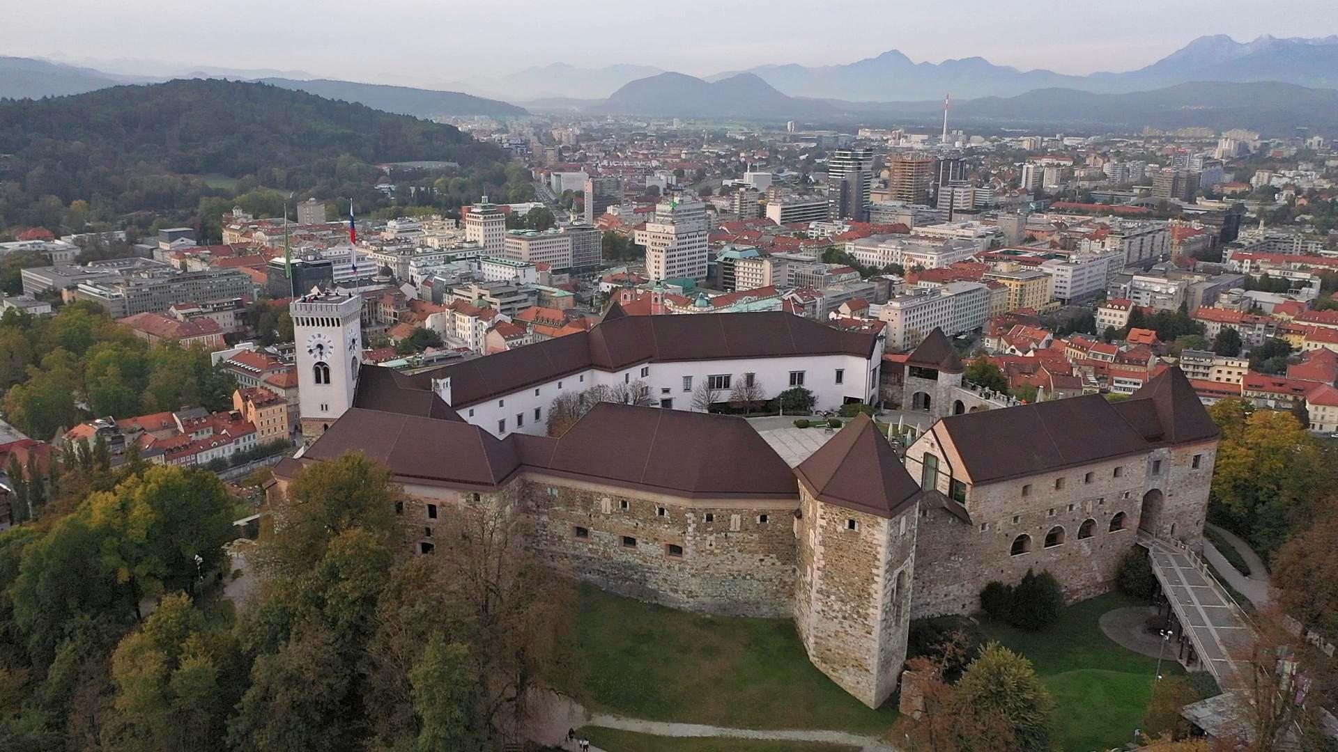 12 Blick auf Lujbljana