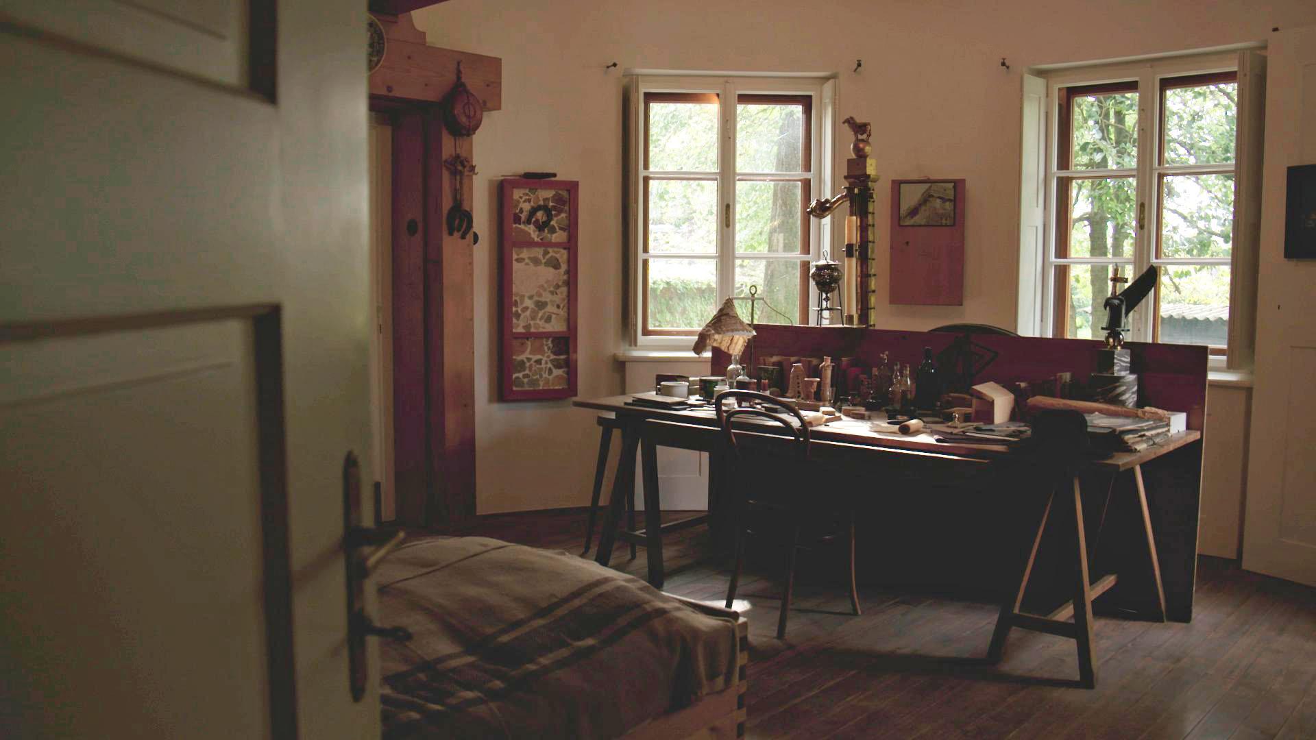 16 Arbeitszimmer von Joze Plecnik heute Teil des Plecnik Museums