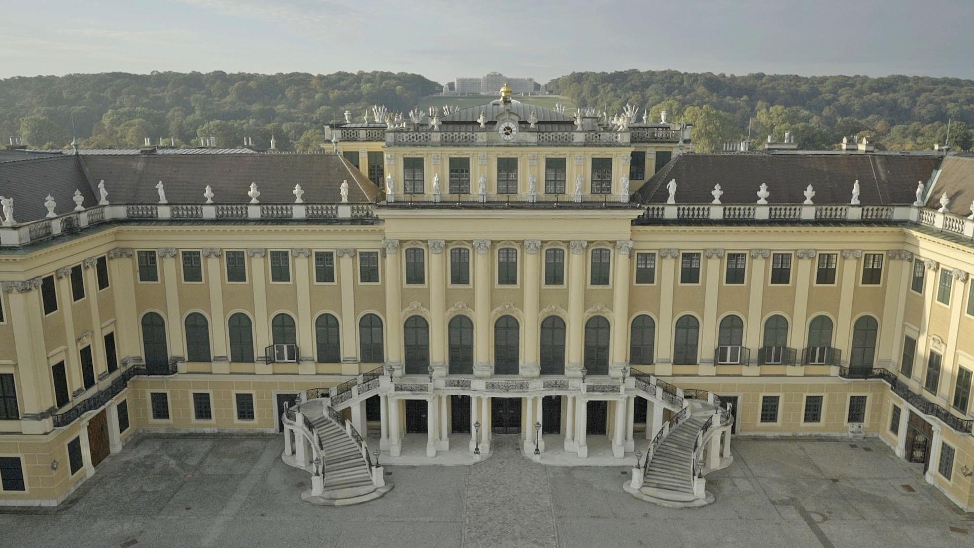 Drohne_Schönbrunn