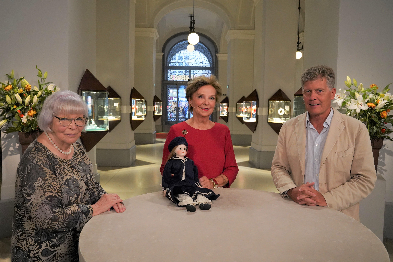 Elisabeth Ettlmayr mit Kari und Gundi Pracher Goh WS92 2